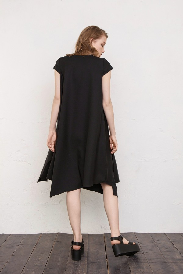 dress with volans