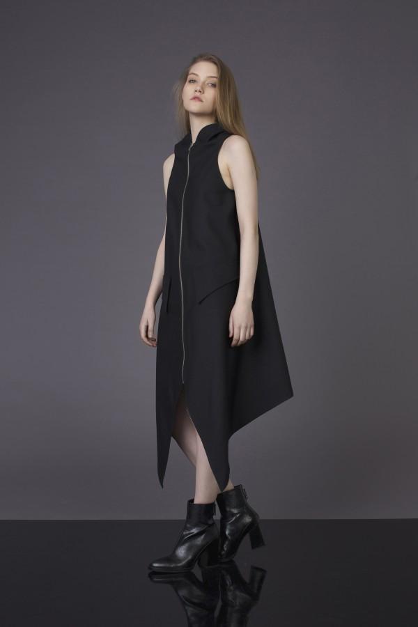 summer dress with zipper