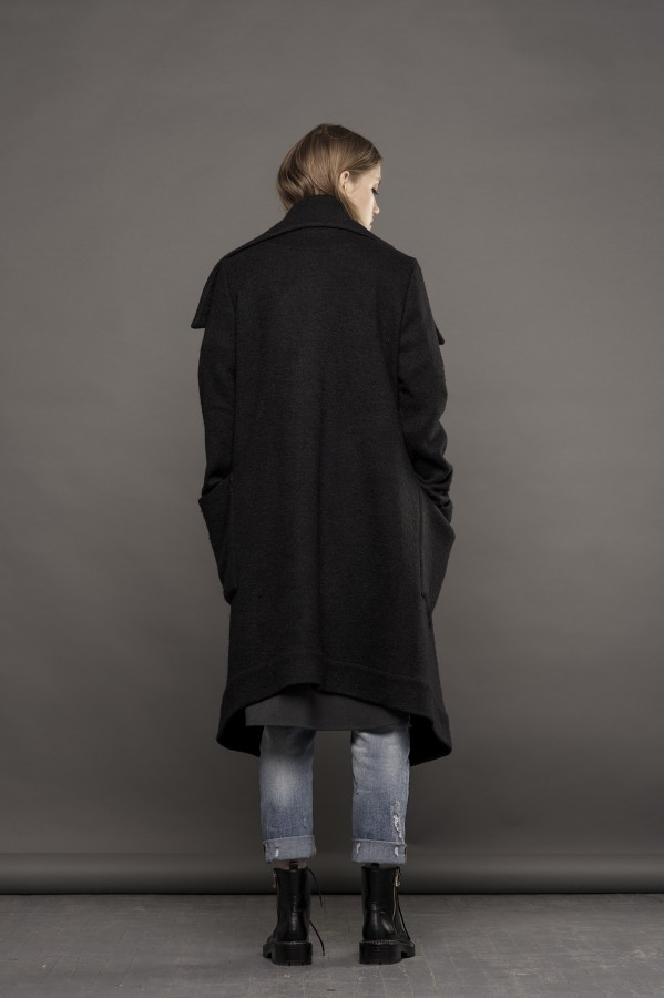 new black coat-sweater