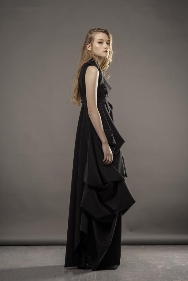 new long black dress