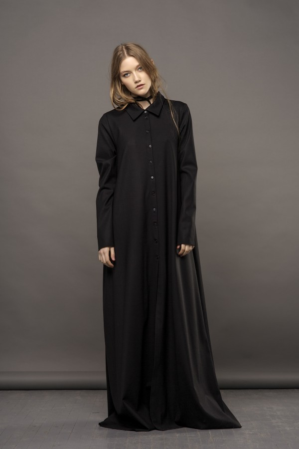 long shirt-dress