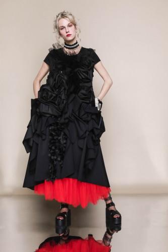 avant-garde dress