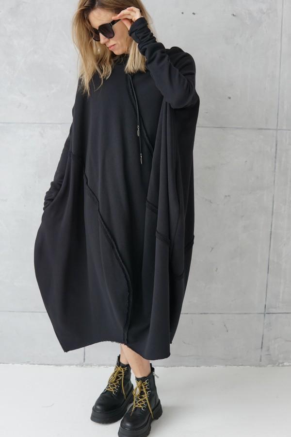 3D BLACK DRESS