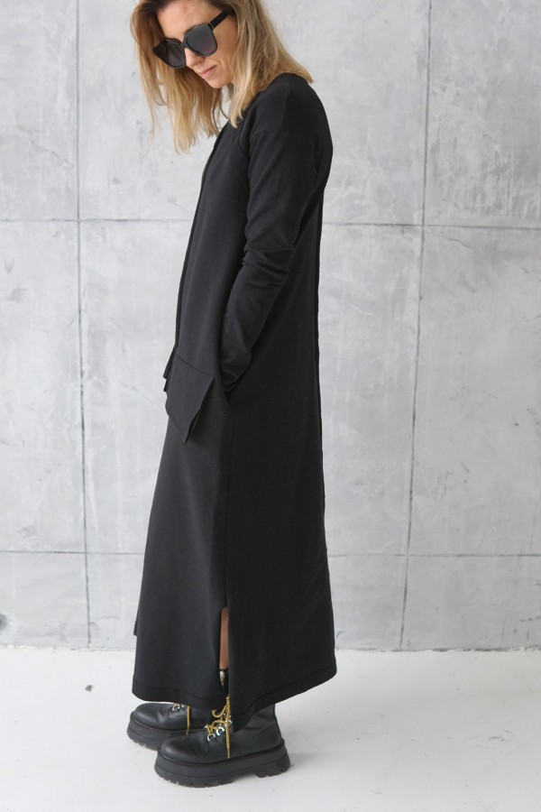 casual dress with long sleeves