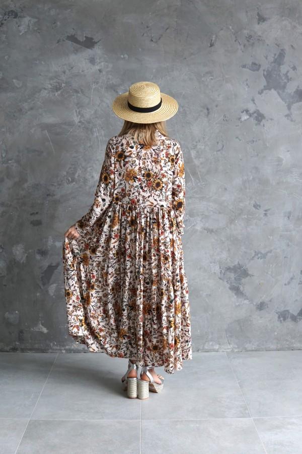 FLORAL DRESS POPPY