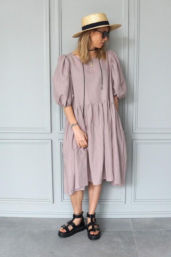 LINEN DRESS SEVILLE