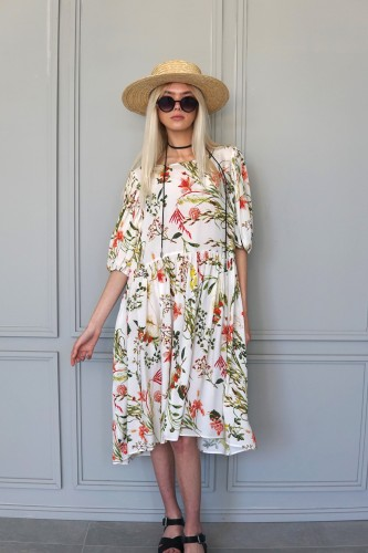 FLOWERY DRESS SEVILLE