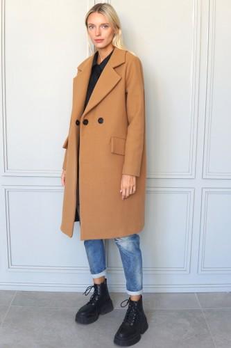 camel coat milan