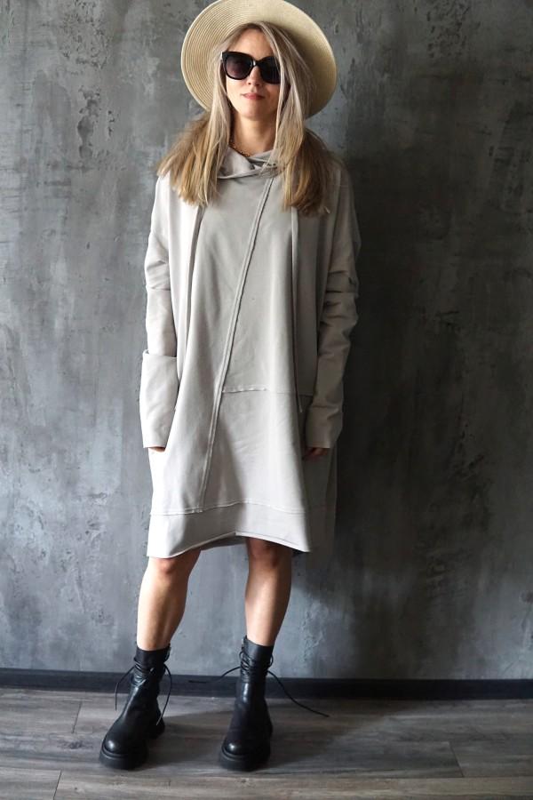 LIGHT DRESS-SWEATSHIRT