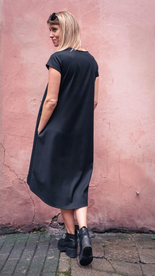 summer black dress