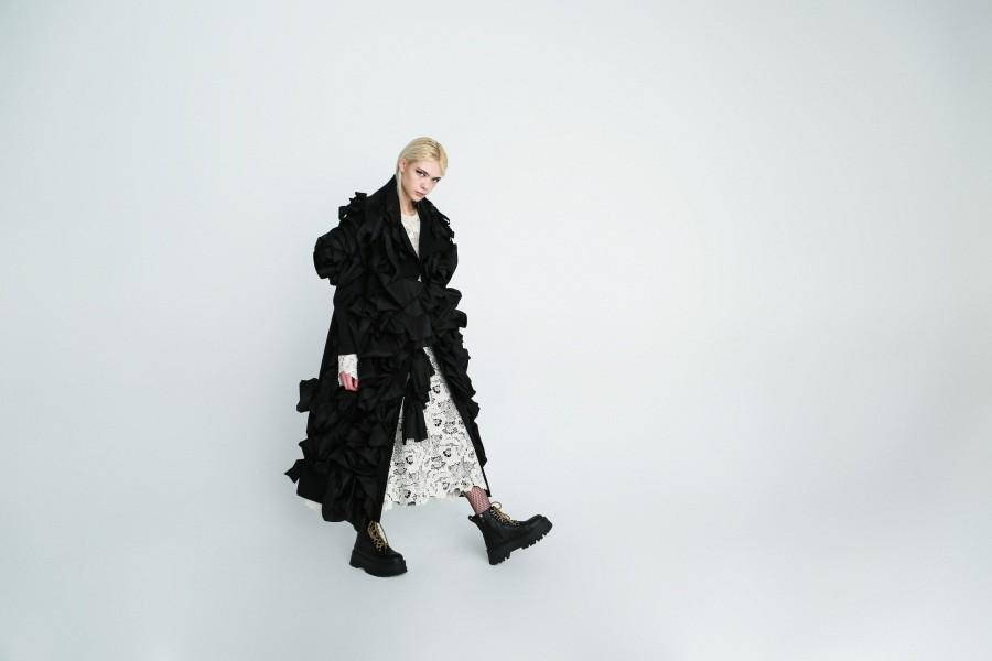 avant-garde coat