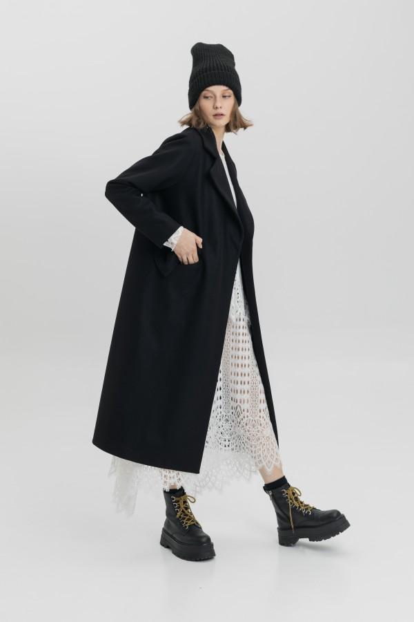 long black coat