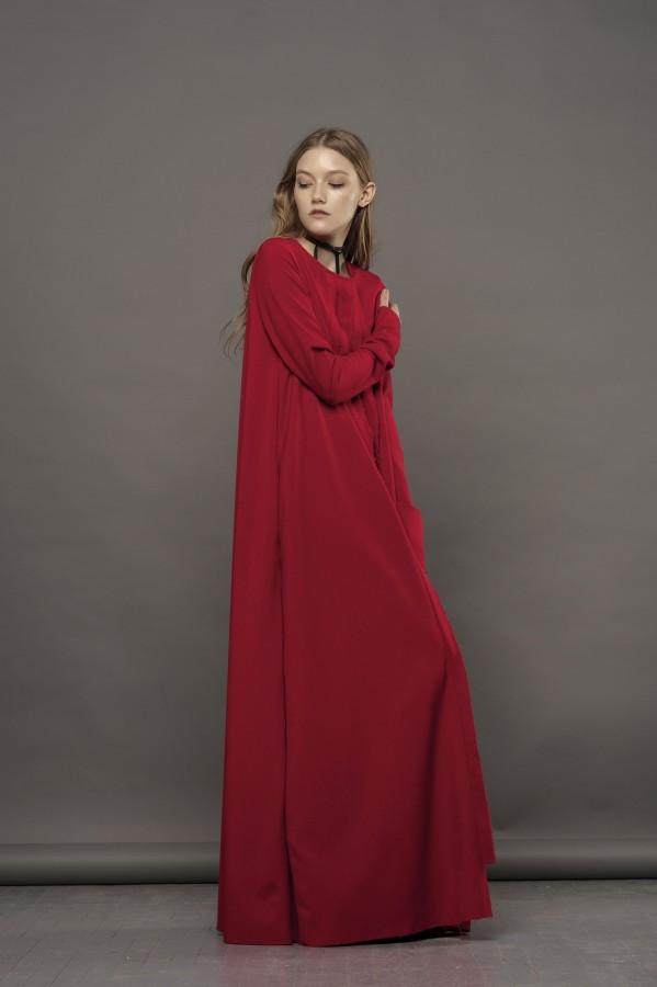 long red dress