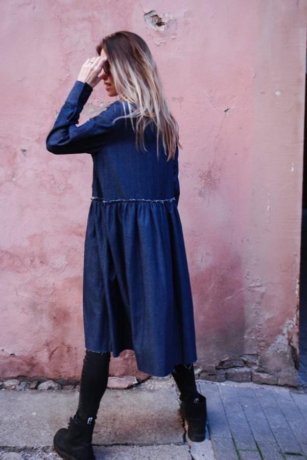 new denim dress