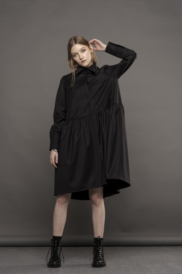 new shirt-dress with pockets