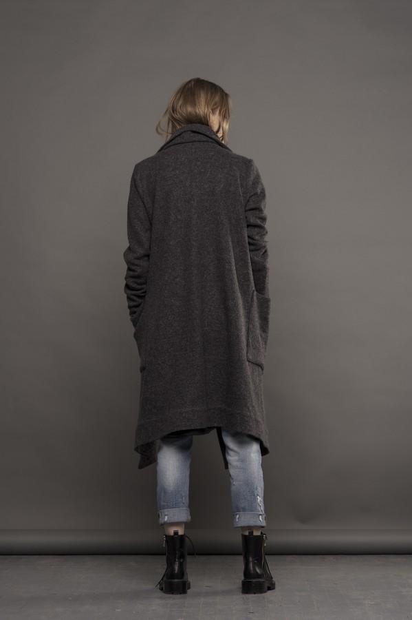 gray coat-sweater