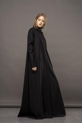 long shirt-dress