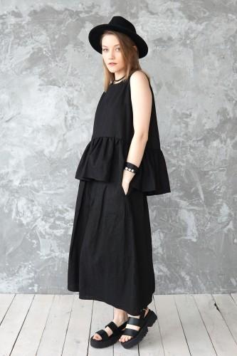 summer linen blouse