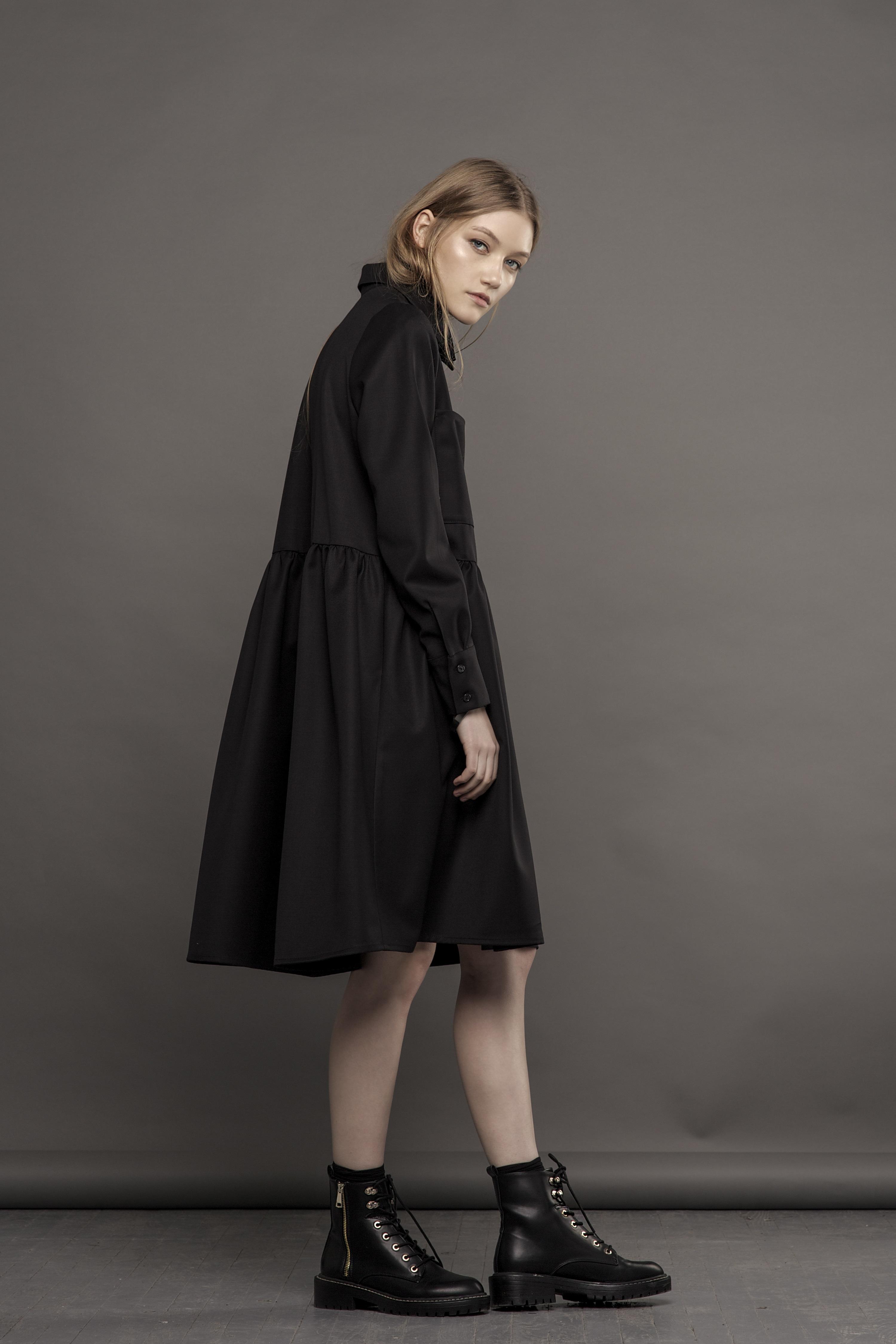 afe6fe41da5 new shirt-dress with pockets - Diana Paukstyte